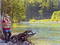 Fishing the Sandy River