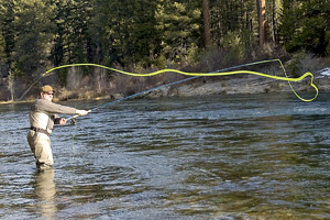 Trout fishing on the Metolius