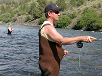 Flyfishing the Deschutes