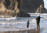 Odfw recreation report marine zone for Fishing season washington