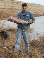 steelhead caught on the lower John Day