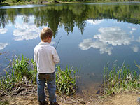 Fishing Dormand Pond