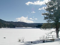 Dog Lake in Winter