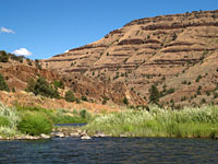The Deschutes River -Photo by Jessica Sall-