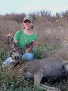 Sarah's First Deer