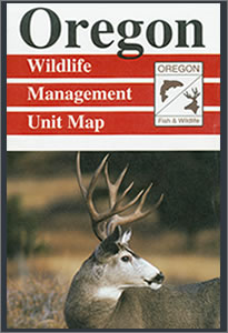 Silvies unit oregon map for Oregon game and fish