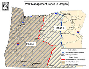 Wolf Management Zones