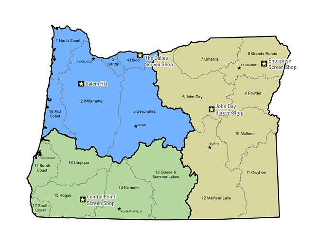 Southwest Oregon Field Coordinator P: 541-826-8774. Rich.M.Kilbane@state.or.us