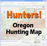 Hunters Access Map