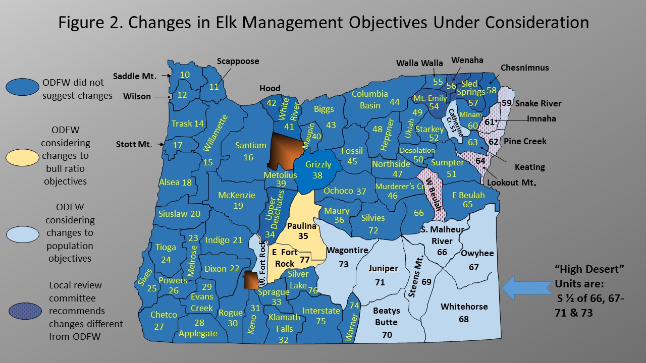 Deer and elk management objectives under review Map Of Elk Range on idaho elk population map, elk hunting map, elk range north america, elk subspecies, elk feet, colorado elk migration routes map, elk range in michigan, elk basin map, colorado elk population map, elk population by state, elk range united states, elk in oregon, elk population density map, elk diet, elk in ohio, us elk population map, elk washington map, colorado elk density map, elk in mountains,