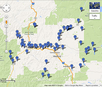 50 places to go fishing within 60 minutes of medford for Where to buy fish near me