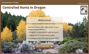 Controlled Hunts Online Course