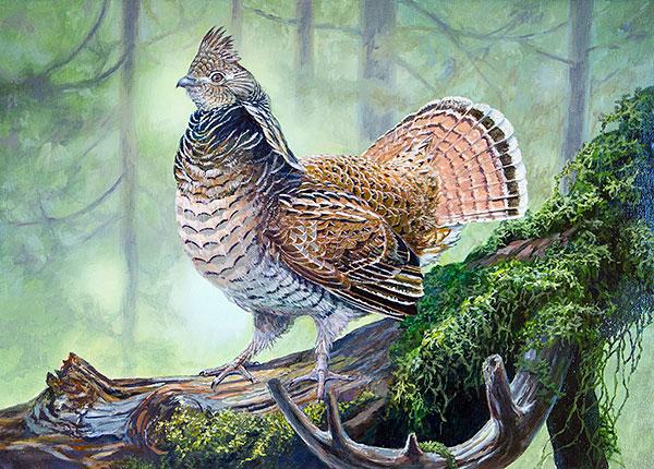 ODFW Upland Game Bird Art Contest