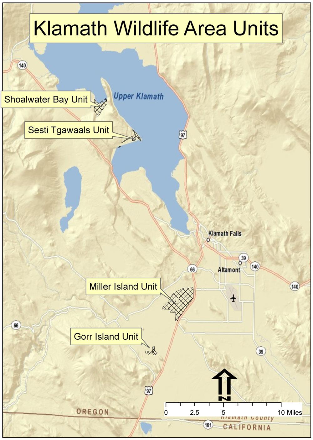 Klamath Wildlife Area Visitors Guide Oregon Department Of Fish
